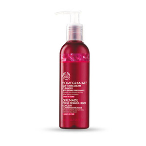 The body shop pomegranate softening cream cleanser