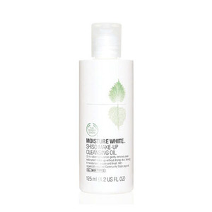 The body shop moisture white shiso make up cleansing oil