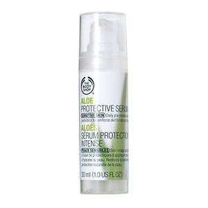 The body shop aloe protective serum for sensitive skin