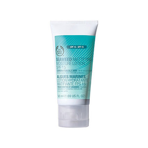The body shop seaweed mattifying moisture lotion spf 15 for combination oily skin
