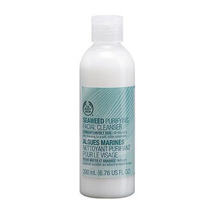 Seaweed purifying facial cleanser
