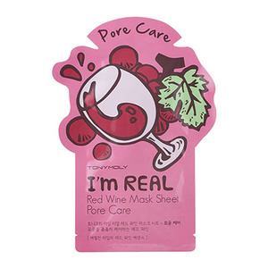 Tonymoly i m real red wine mask sheet