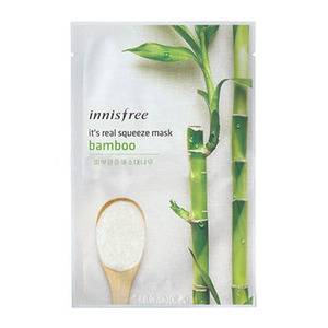 Innisfree it s real squeeze mask bamboo
