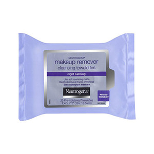 Makeup remover cleansing towelettes  night calming