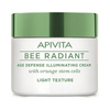 Bee radiant age defense illuminating cream light texture