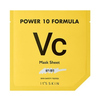 Power 10 formula vc mask sheet