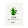 Beauty in a food mask sheet aloe