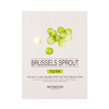 Beauty in a food mask sheet brussels sprout