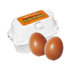 Smooth egg skin red clay egg soap