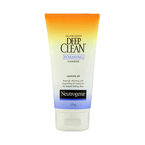 Deep clean foaming cleanser