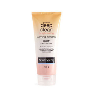 Deep clean brightening foaming cleanser