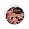 Pink racoony hydrogel eye cheek patch