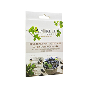 Blueberry anti oxidant super defense mask