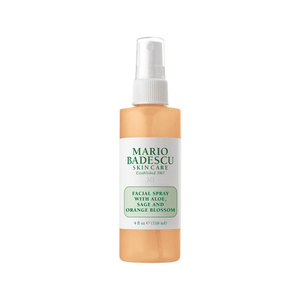 Facial Spray With Aloe Sage And Orange Blossom Mario