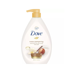 Purely Pampering Shea Butter With Warm Vanilla Body Wash Dove Skincarisma