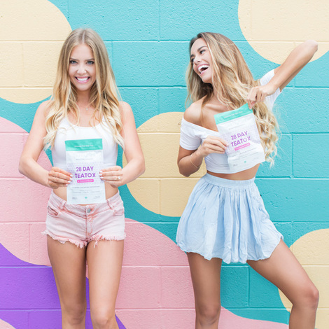 skinnymint tea detox program Bestie teatox