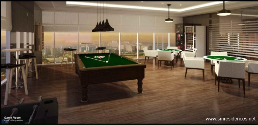 Coast Residences Game Room