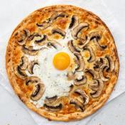 Truffle Mushroom & Egg Pizza