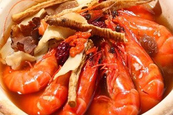 虾 Prawns
