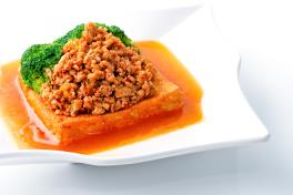 Minced Chicken Beancurd  肉碎豆腐