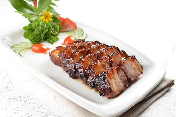 A12 蜜汁叉烧 Barbecued Pork with Honey Sauce (Serving)