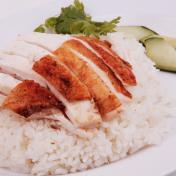 Roasted Chicken Rice - 烧鸡饭