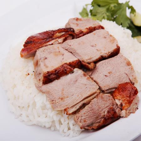 Roasted Duck Rice - 烧鸭饭
