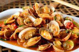 301 Stir-Fried Flower Clams (La La) 炒花蛤 (啦啦)