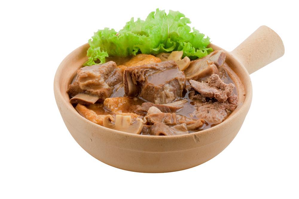 Claypot Bak Kut Teh (Mixed)  / 砂煲肉骨茶 (什锦)