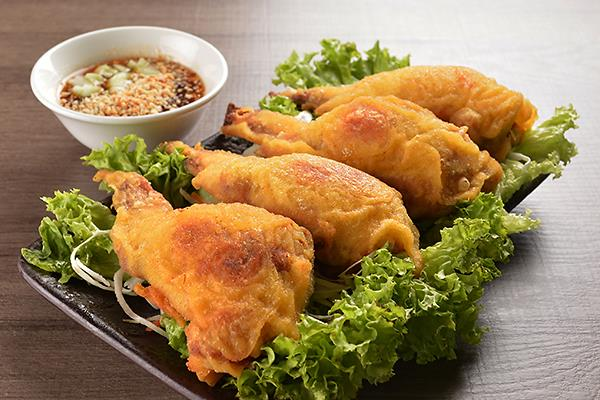 113 Deep-fried Stuffed Chicken Wing (4pcs)