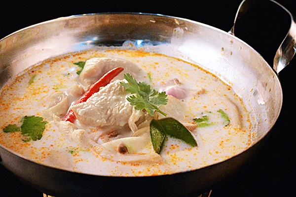 202 Coconut Based Tom Yum Soup with Chicken