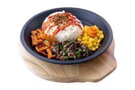 Bulgogi & Spicy Chicken Teppan