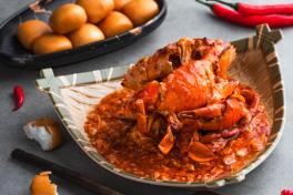 辣椒螃蟹 Chilli Crab