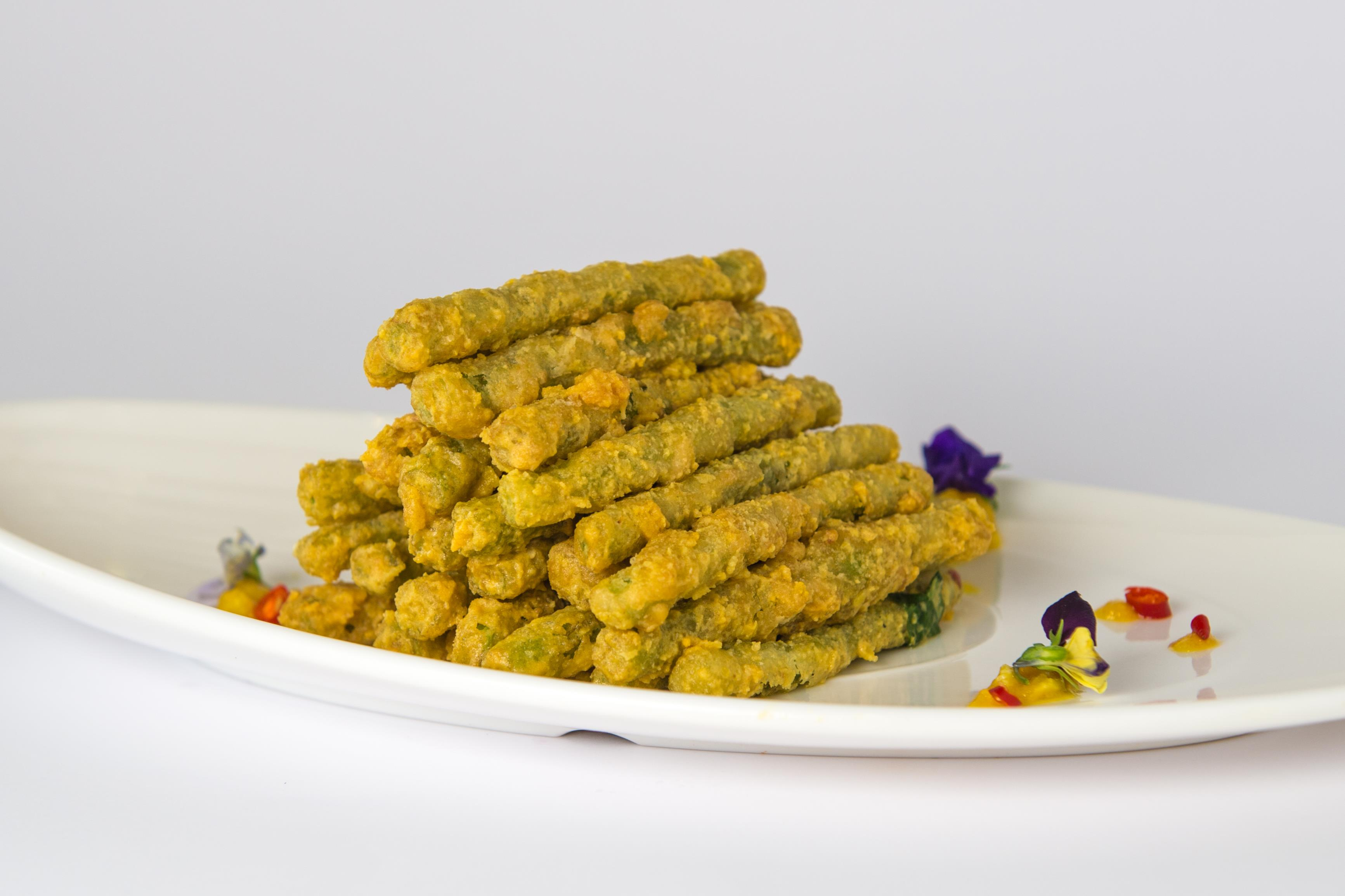 Salted Egg French Bean