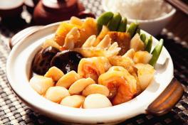 Superior Braised Seafood Combination