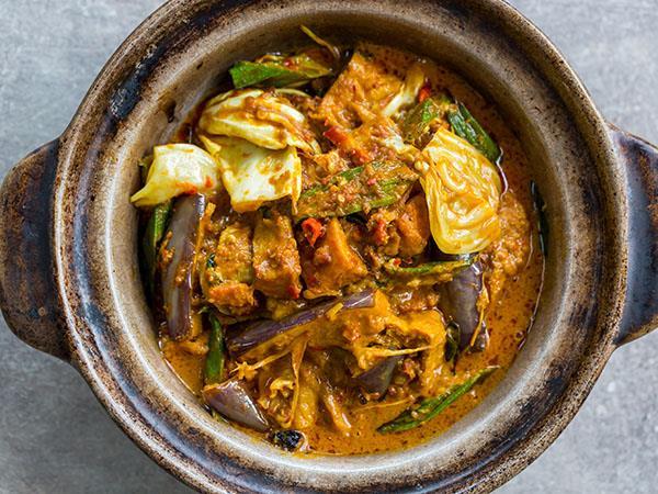 Smoked Pork Curry 烟熏猪肉咖喱 ⭐