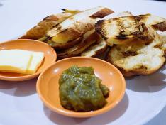 Fresh Kaya on Toasted Baguette 烤面包咖椰 (5 slices) ⭐