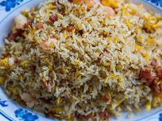 Smoked Pork Belly Fried Rice 烟熏五花肉炒饭 ⭐