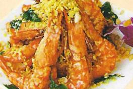 沙律蝦球 Prawn Served w/ Salad Cream  ★