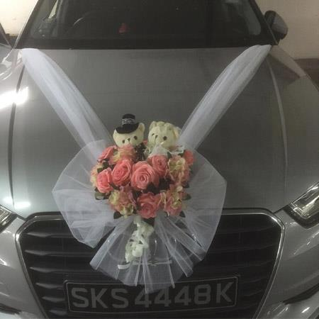 Wedding Car Deco