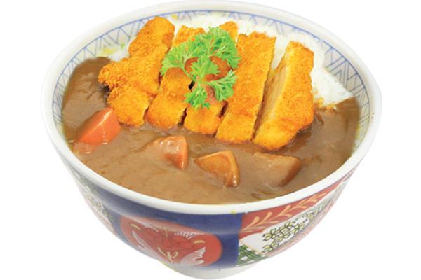 Chicken / Pork Katsu Curry Don チキン/ ポークカツ カレーうどん