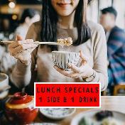 Lunch Sets (1 Side ➕ 1 Drink)