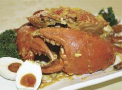 Salted Egg Crab 咸蛋蟹