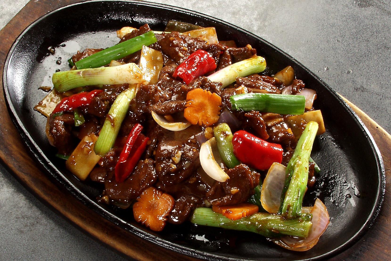 Black Pepper Venison - 黑胡椒炒鹿肉