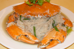 Braised Bee Hoon Crab - 螃蟹焖米粉