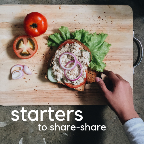 STARTERS TO SHARE SHARE