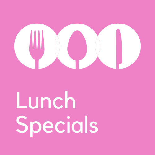 *LUNCH SPECIALS @ $15.80 are only available on Wed, Thur, Fri from 11am to 3pm