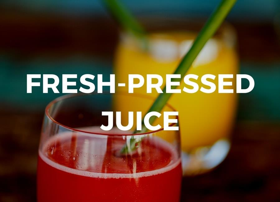 Fresh-pressed Juice