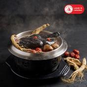 Ginseng Black Chicken Hot Pot