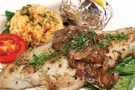 MAIN COURSE DORY FISH SPECIAL